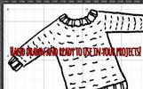 51 Yarn Craft Graphic Elements Illustration