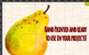46 Hand Painted Fruits and Vegetable Illustration Big Screenshot
