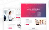 """""""Qantor - Creative Agency Office"""" PSD Template"""