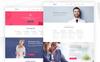 """""""Qantor - Creative Agency Office"""" PSD Template Groot  Screenshot"""