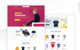 "Template PSD #80926 ""Uneno - Kids Fashion eCommerce"""