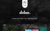 Dolan - Food and Travel Tour PSD-mall