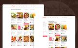 Plantilla PSD para Sitio de Comida y Restaurante