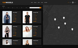 Top Models Website Template