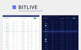 BITLIVE - Crypto Currency and Mining PSD Template