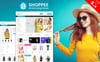 """Shoppee Multistore"" Responsive OpenCart Template Groot  Screenshot"
