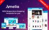 """""""Amelia - Multipurpose"""" Responsive OpenCart Template Groot  Screenshot"""