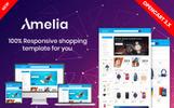 """""""Amelia - Multipurpose"""" Responsive OpenCart Template"""