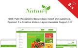 """Nature - Organic & Farm Food"" OpenCart Template"