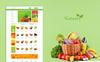 """Nature - Organic & Farm Food"" OpenCart Template Groot  Screenshot"