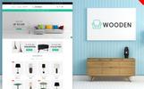 "OpenCart Vorlage namens ""Wooden - Furniture"""