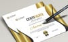 Modern Certificate Template Big Screenshot