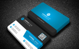 Focus Business Card Corporate Identity Template