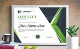 Professional Completion Award Certificate Template