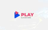 """Play Design"" Logo template"