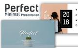 Perfect - Minimal Keynote Template