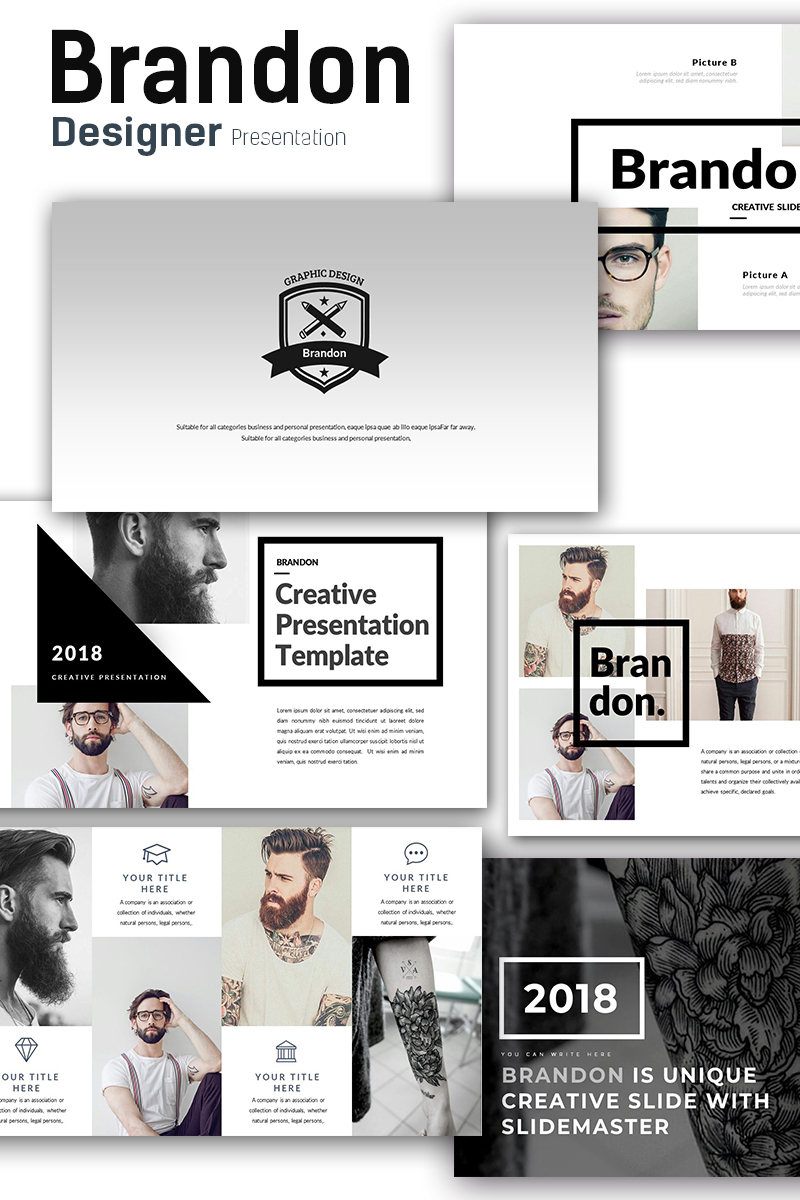 brandon premium presentation powerpoint template 68861