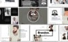 Brandon - Premium Presentation PowerPoint Template Big Screenshot