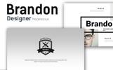 Brandon Premium Presentation Keynote Template