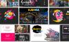 Karma Creative Presentation PowerPoint Template Big Screenshot
