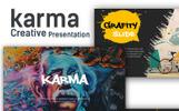 Karma Creative Presentation Keynote Template