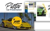 Pista Car Presentation PowerPoint Template