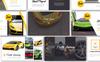 Pista Car Presentation PowerPoint Template Big Screenshot