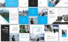 Plantilla PowerPoint para Sitio de Diseño y Fotografía Captura de Pantalla Grande