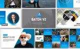 Responsivt Batoh V2 Premium PowerPointmall