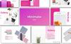 """PowerPoint Vorlage namens """"Minimalw -"""" Großer Screenshot"""