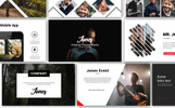 Jones Creative PowerPoint Template
