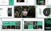"""Saori Botanical"" google Slides adaptatif Grande capture d'écran"