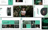 """Saori Botanical"" google Slides adaptatif"