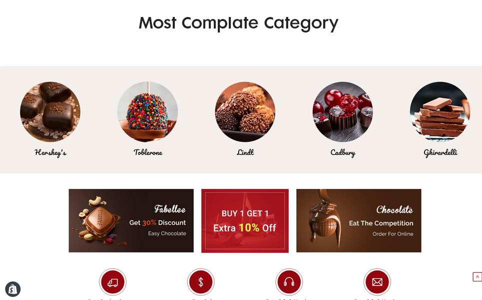 Chocozo - The Chocolate Responsive Shopify Theme
