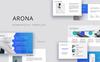 """PowerPoint шаблон """"ARONA -"""" Большой скриншот"""