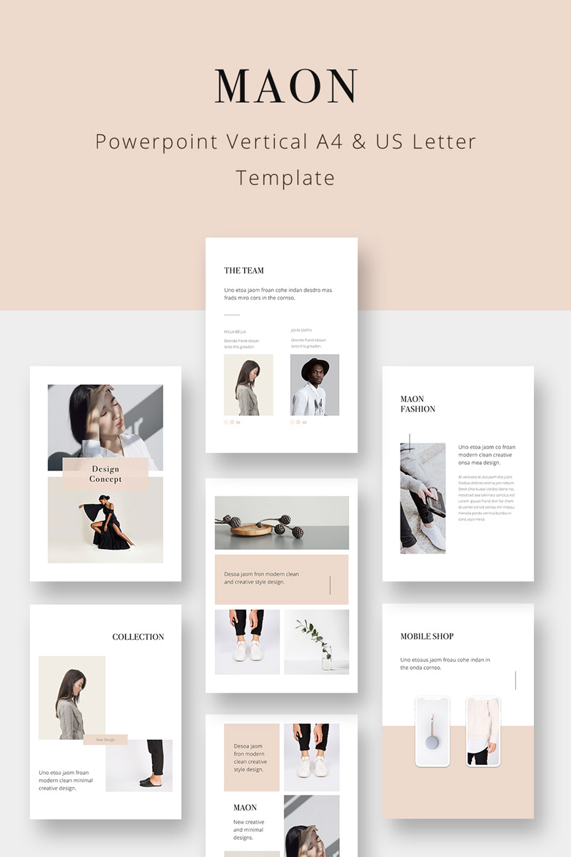 Maon Vertical Point Template