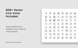 MAON - Vertical PowerPoint Template