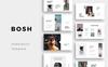 """PowerPoint Vorlage namens """"BOSH -"""" Großer Screenshot"""