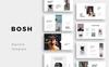 Szablon Keynote BOSH - #75405 Duży zrzut ekranu
