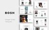 """""""BOSH - Minimal"""" Google Slides Groot  Screenshot"""