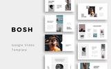 """BOSH - Minimal"" Google Slides"