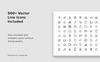 """""""NOYA - Vertical A4 & US Letter"""" modèle PowerPoint  Grande capture d'écran"""