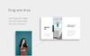 NOYA - Vertical A4 & US Letter Keynote Template En stor skärmdump