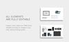 Plantilla Keynote para Sitio de Gráficos Captura de Pantalla Grande