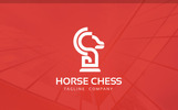 Horse Chess Logo Template