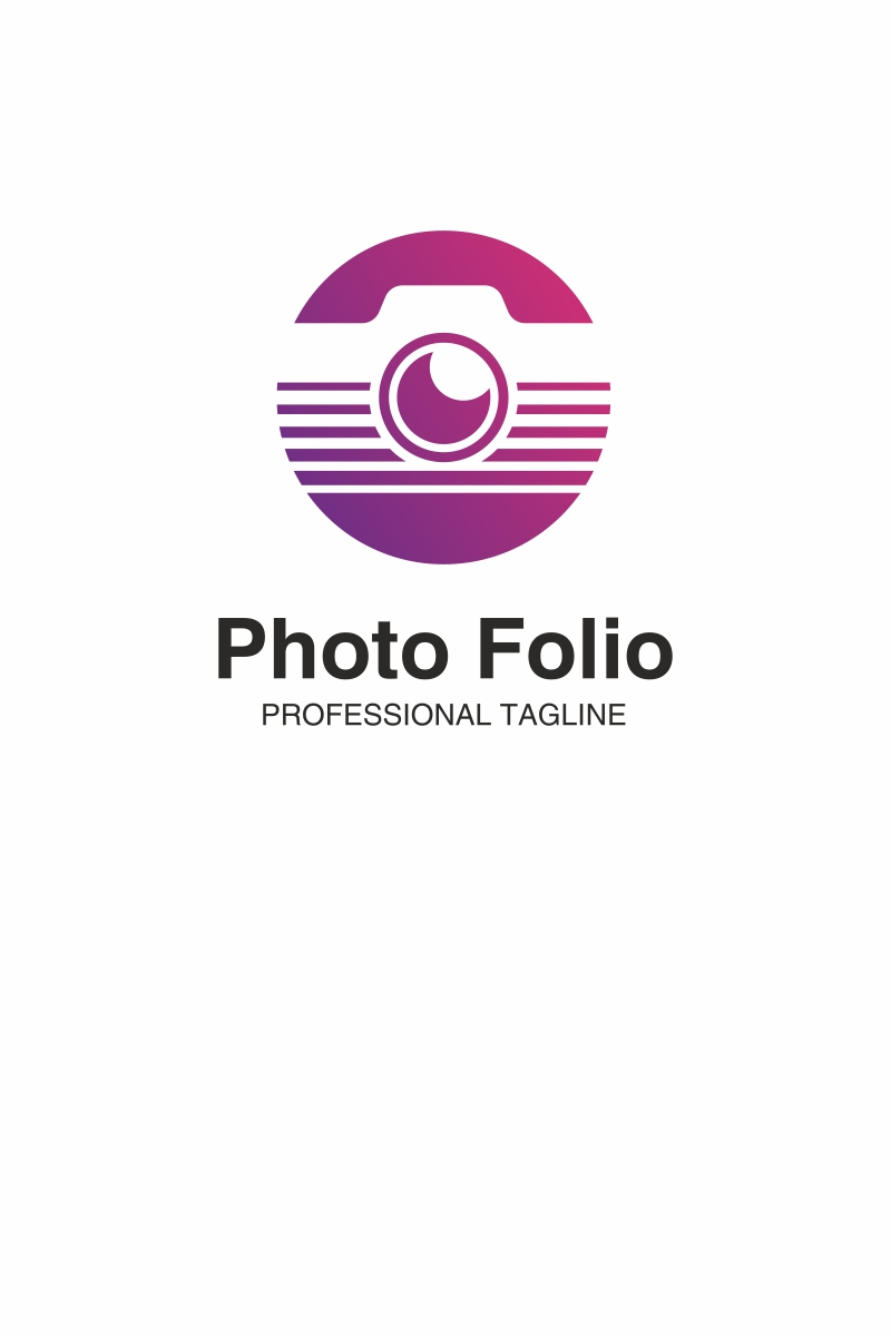 photo folio logo template 68732
