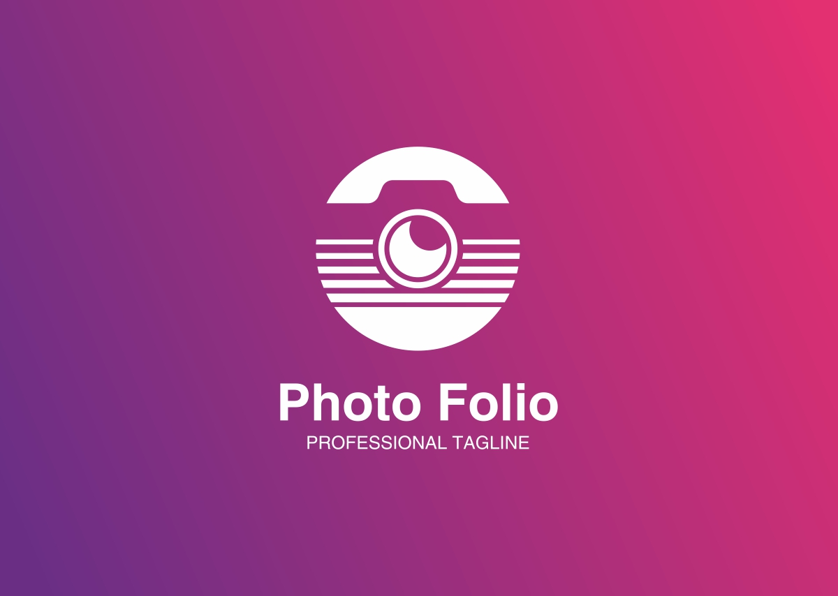 photo folio logo template 68732