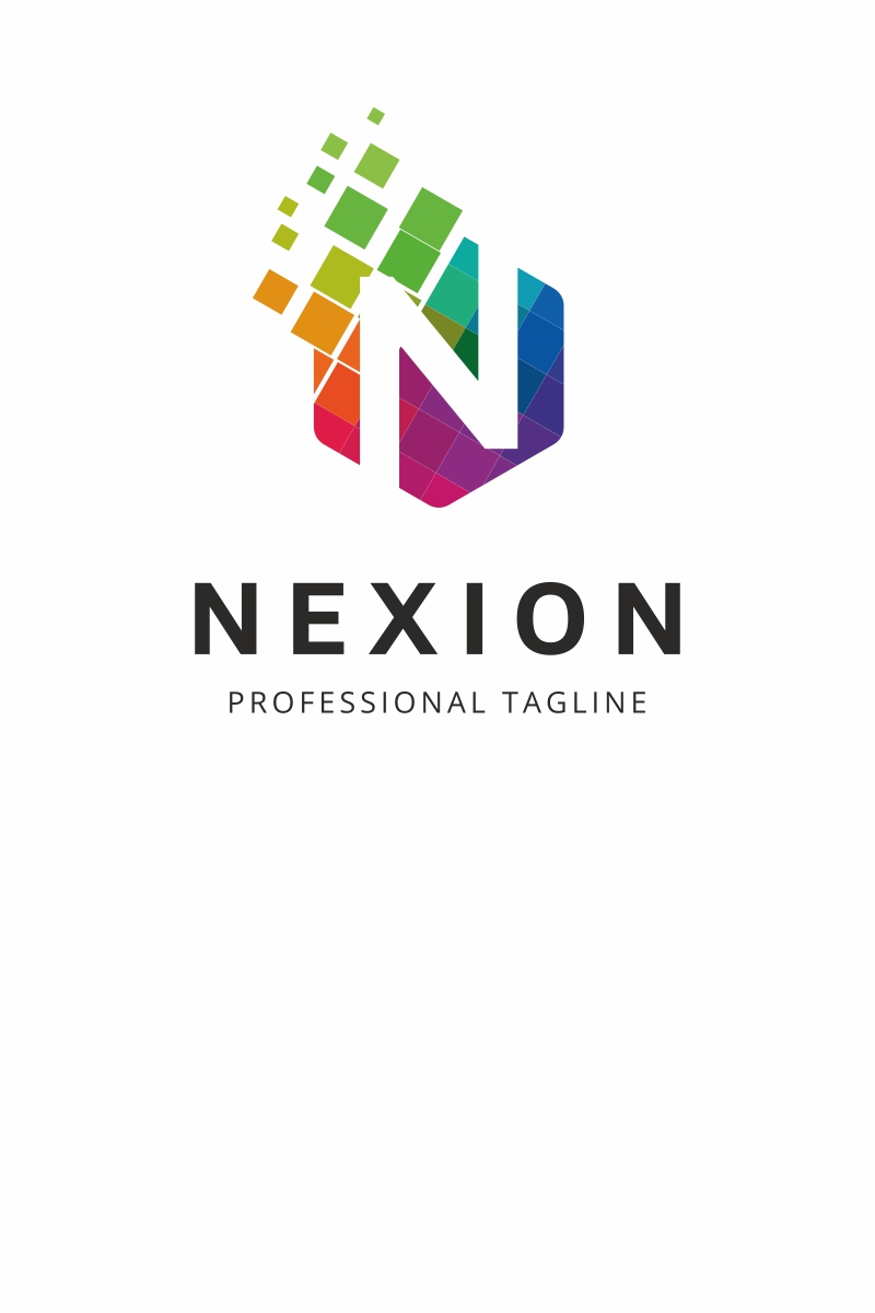 Nexion N Letter Logo Template #69656