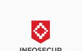 Info Secure Logo Template