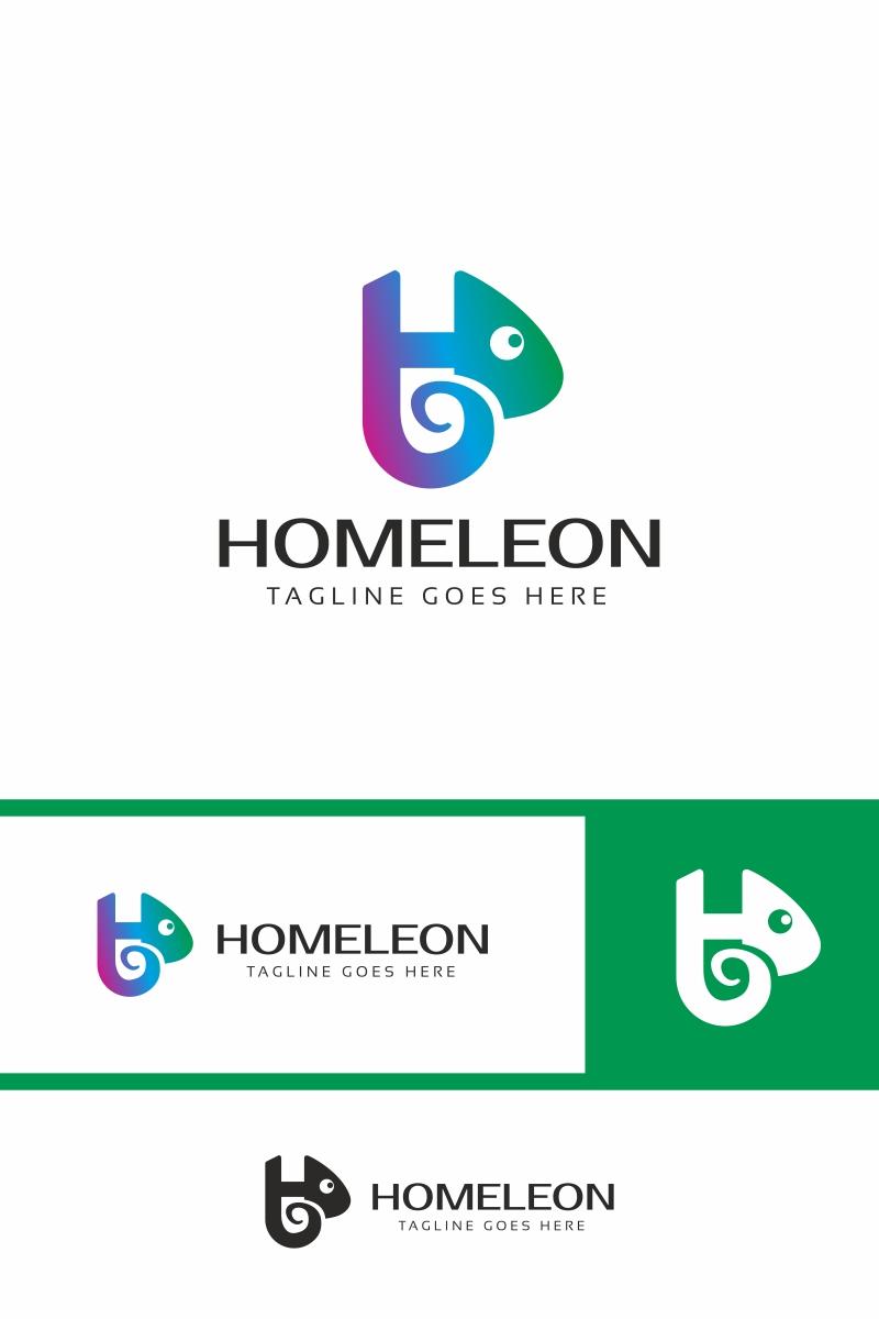 Chameleon H Letter Logo Template #70296